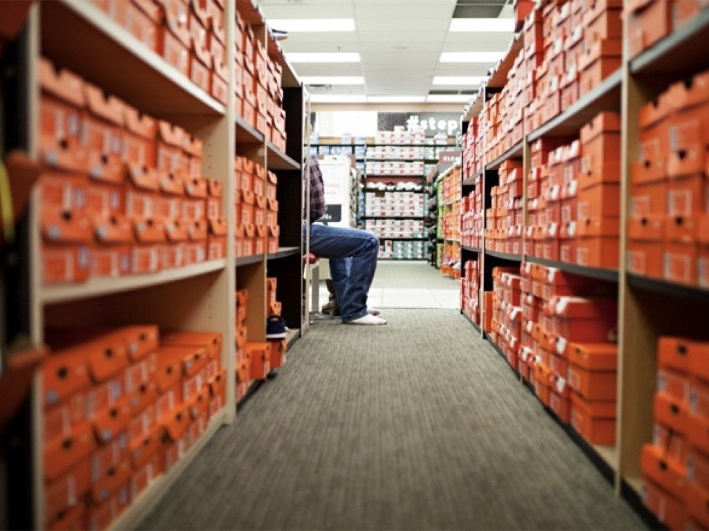 Warehouse shoes
