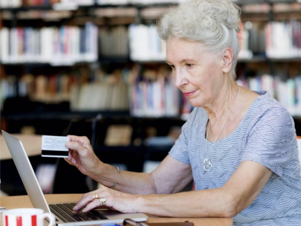 Old Women online shopping