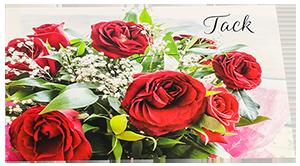 tack rosor