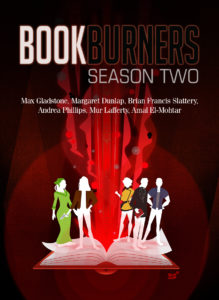 Bookburners S2 Cover with Authors