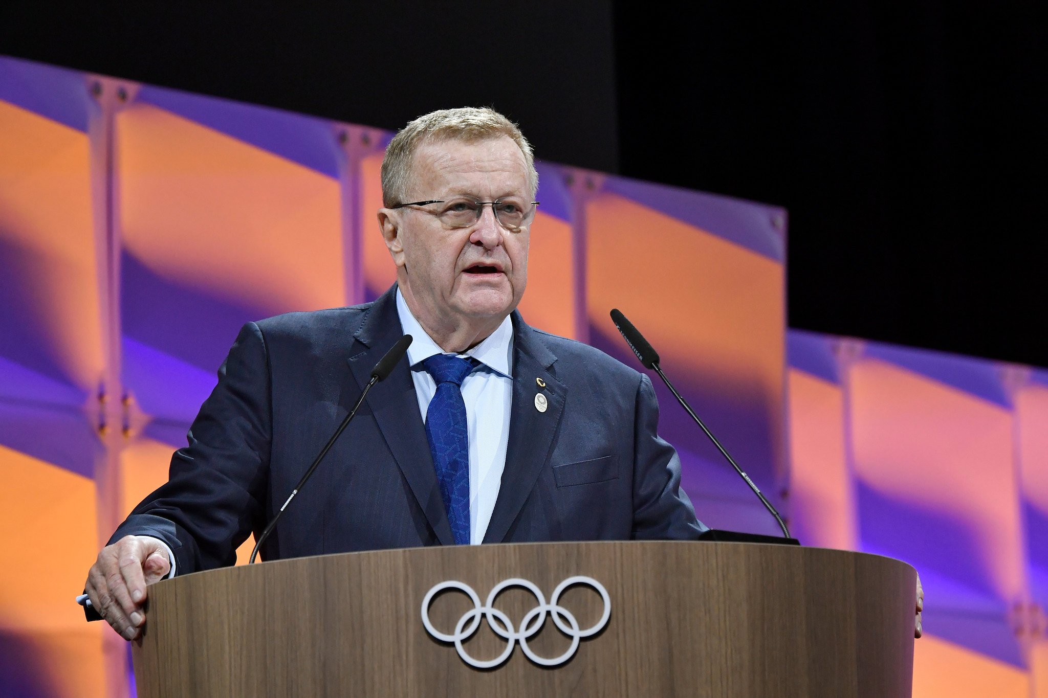 AOC President John Coates has been elected Vice-President of the International Olympic Committee