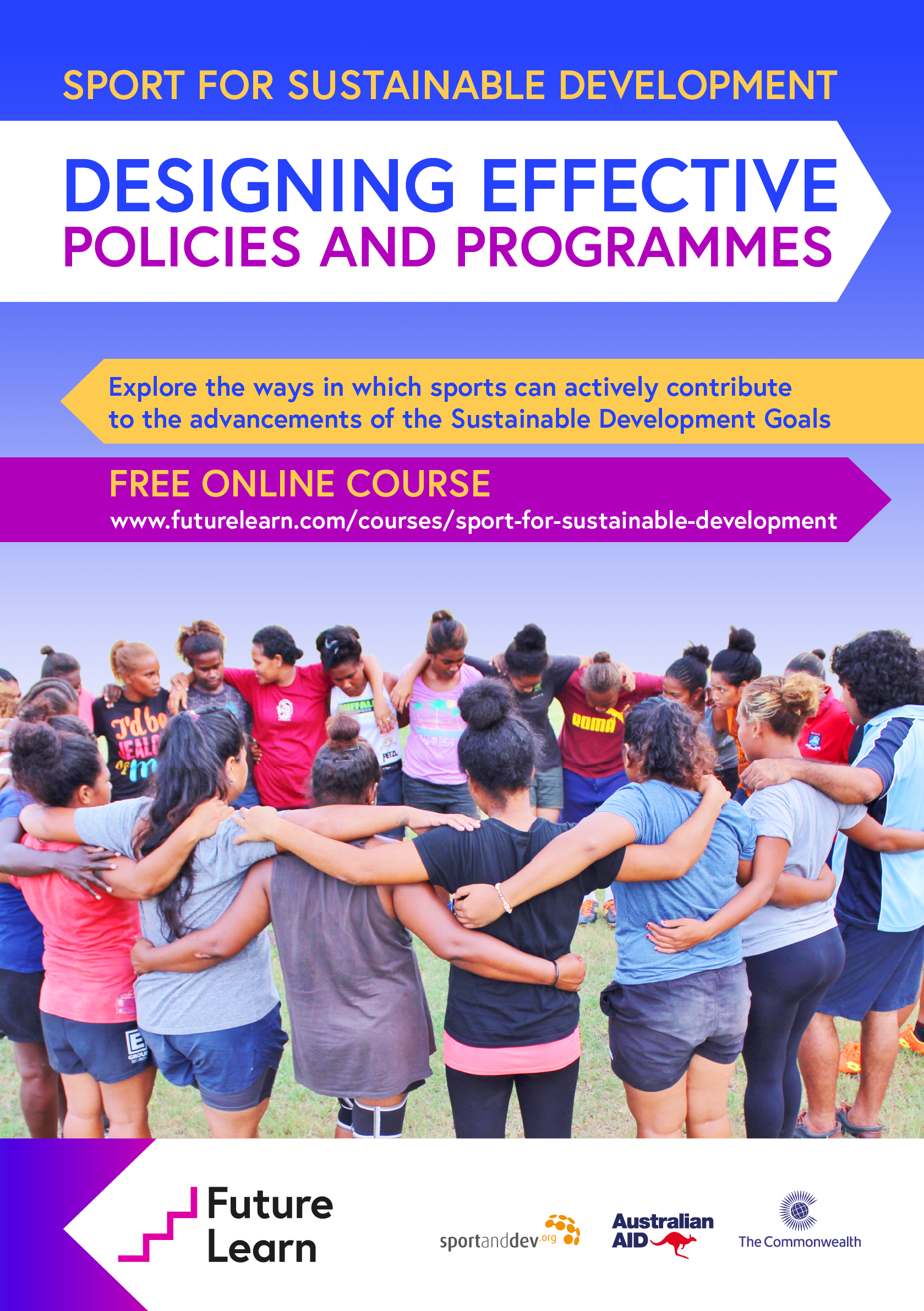 Launch of First Online Global Course on Sport and the Sustainable Development Goals
