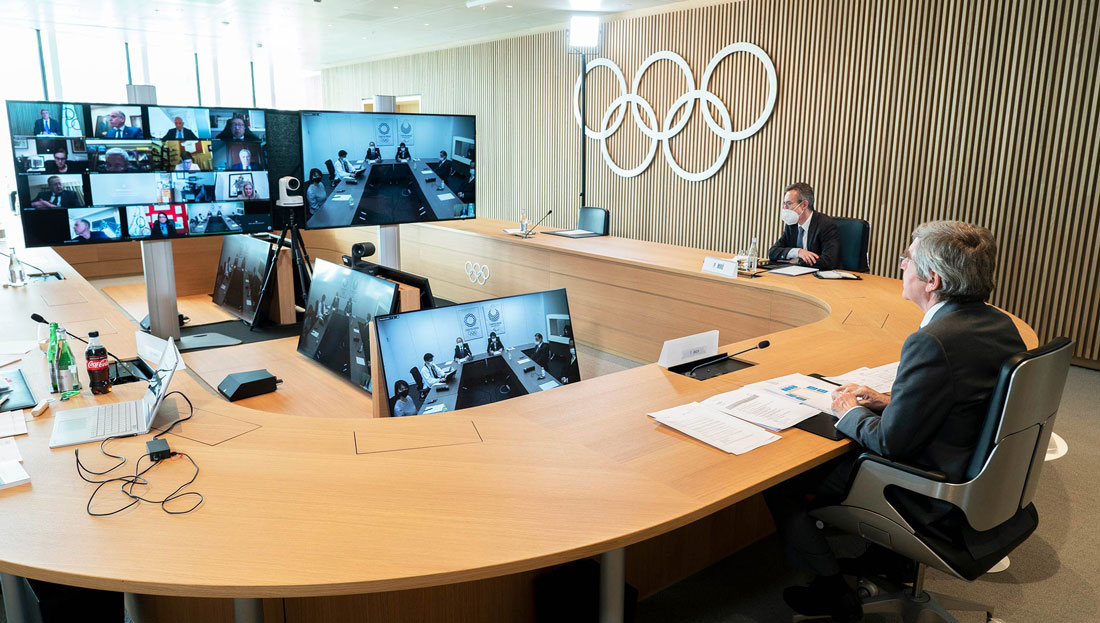 New Tokyo 2020 President welcomed by IOC EB