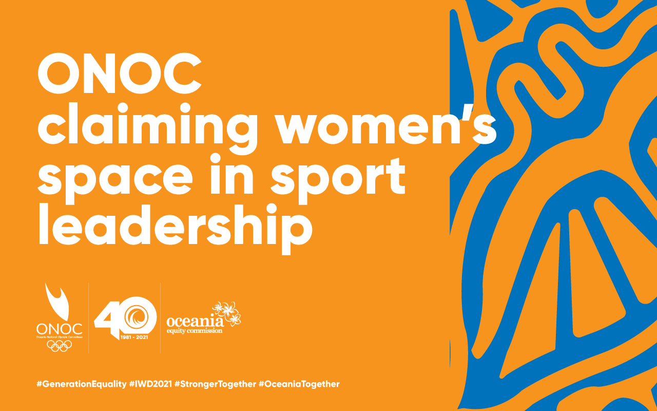 ONOC claiming women's space in sport leadership