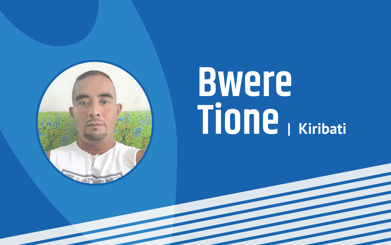Bwere Tione - ONOC-USP Pacific Regional Sports Research Project Recipient