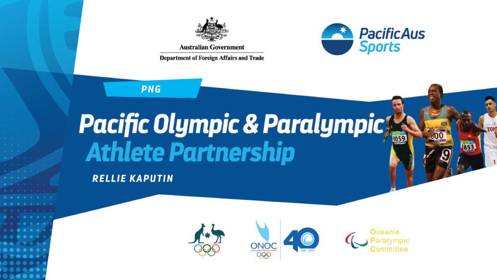 #PacificAusSports - Rellie Kaputin