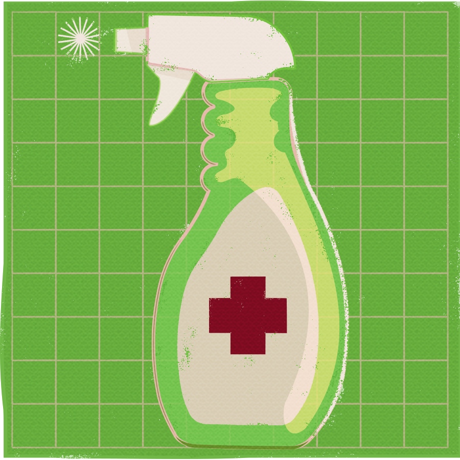 Picture of disinfectant