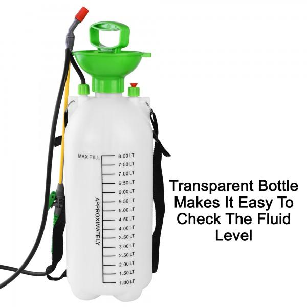 8 LITRE PLASTIC PUMP SPRAYER
