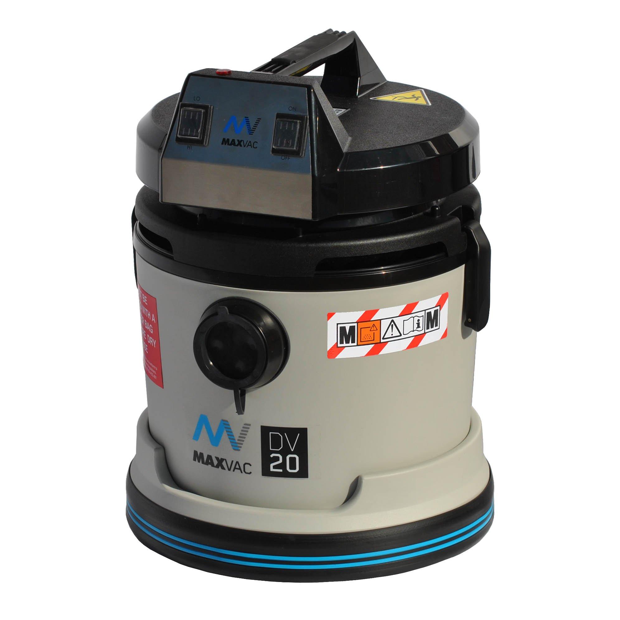Certified M-Class 20L Vacuum 110V, Wet/Dry MAXVAC Dura DV20-MB