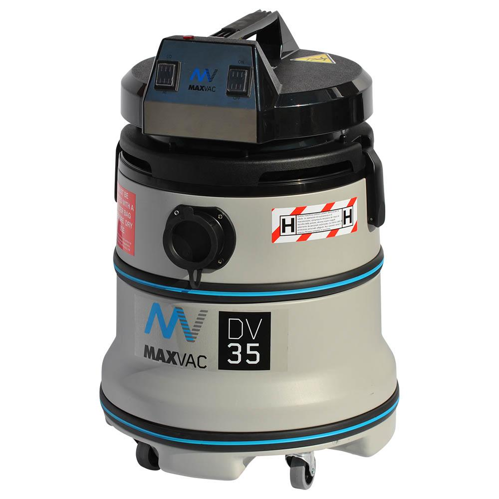 Certified 35L H-Class Vacuum 230V with manual Filter Clean