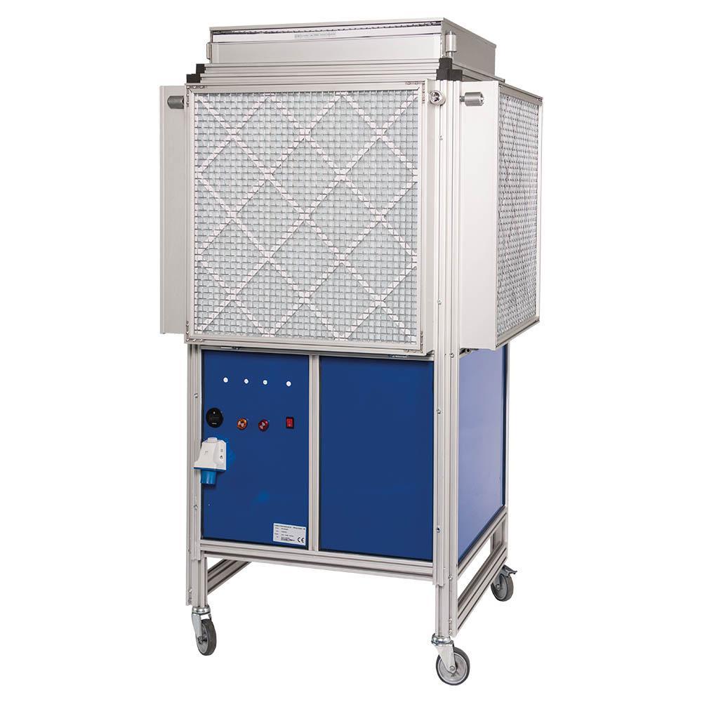 Dustblocker Pro 60 Air Scrubber Cleaner - 14'400m3/h in 230 Volt