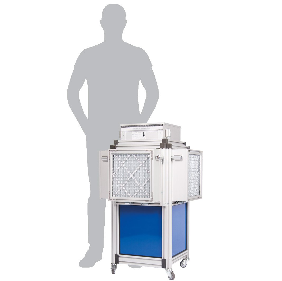 Dustblocker Pro 30 Air Scrubber Cleaner 110 Volt - 4'200m3/h Air Filtation