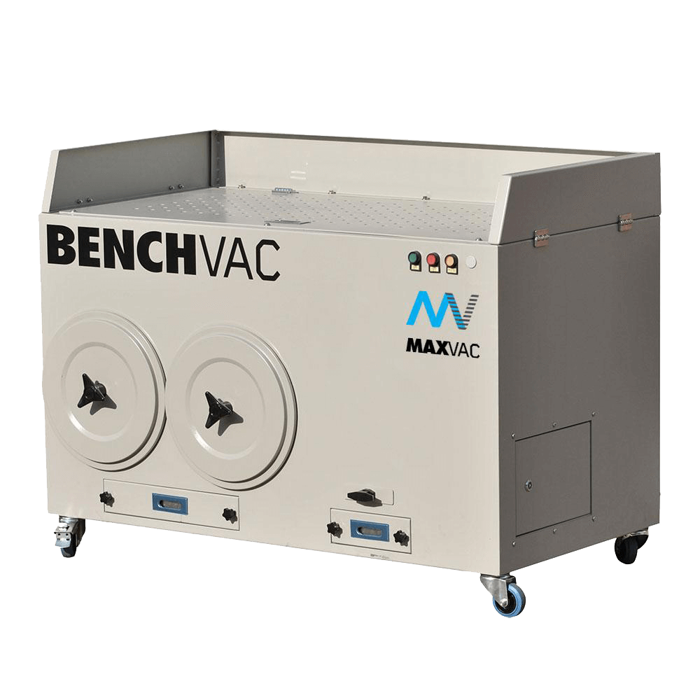 MAXVAC BenchVac extraction table