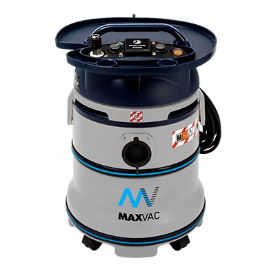 Air-Powered M Class 35Ltr Certificated Wet/Dry Vacuum 230v, PTO Air Supply and Wand Kit