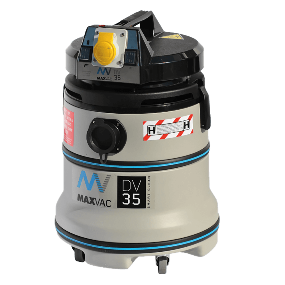 Certified H-Class 35L Vacuum with SMARTclean Filter Function - 110V MAXVAC Dura DV35-HBA