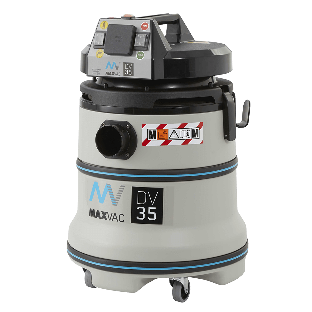 Certified M-Class 35Ltr Vacuum with Smart-Clean Filter Function 230V - MAXVAC Dura DV35-MBAN