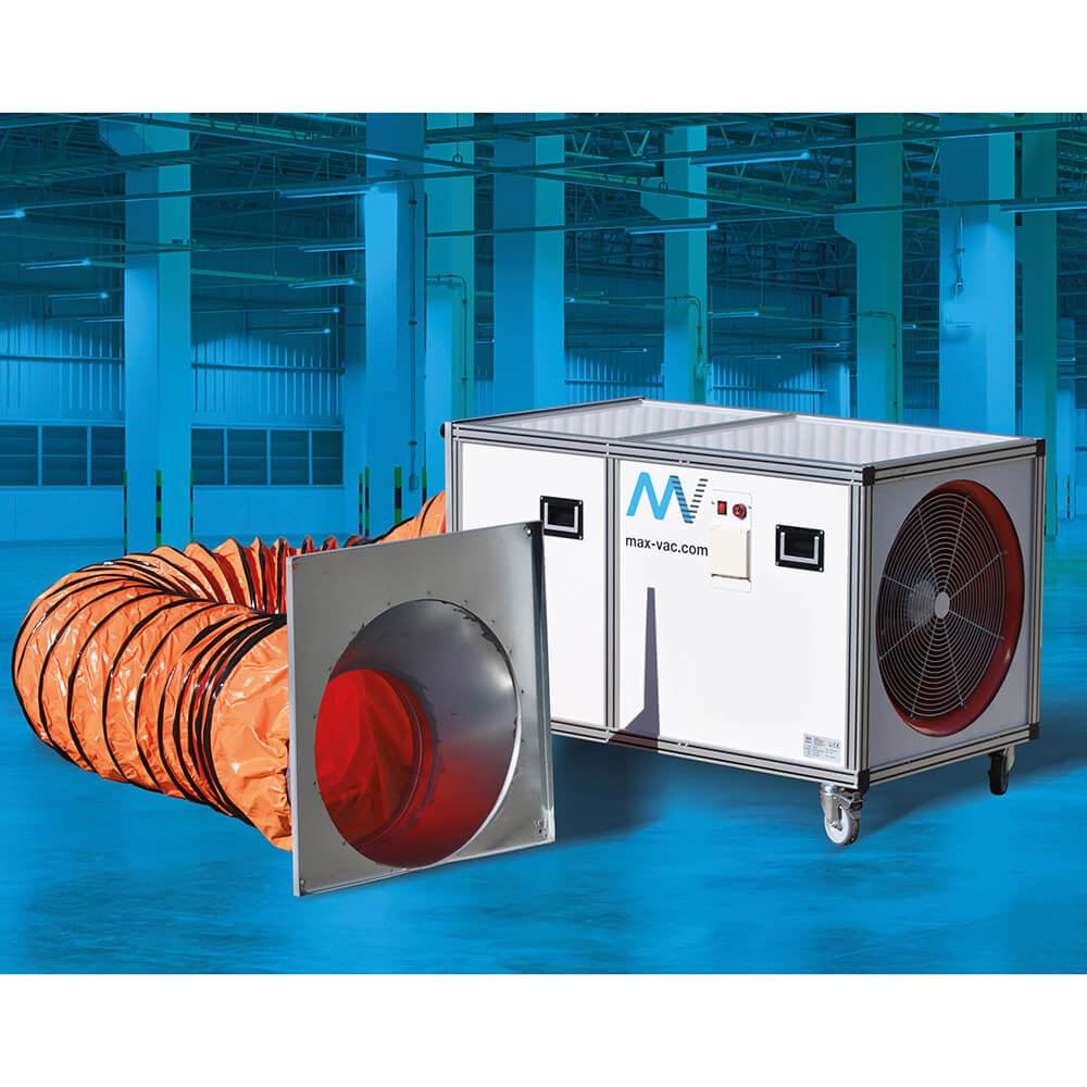 Dustblocker 5000 Air Filtration Cleaner 110 Volt with 4000m3/h Air Filtration