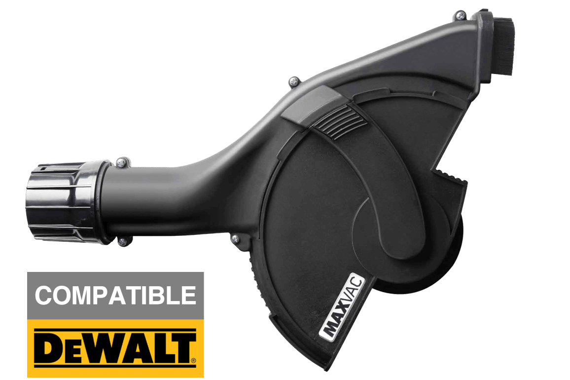 "MAXVAC 180/230mm (8-9"") Angle Grinder Cutting Shroud for Dewalt Grinders"