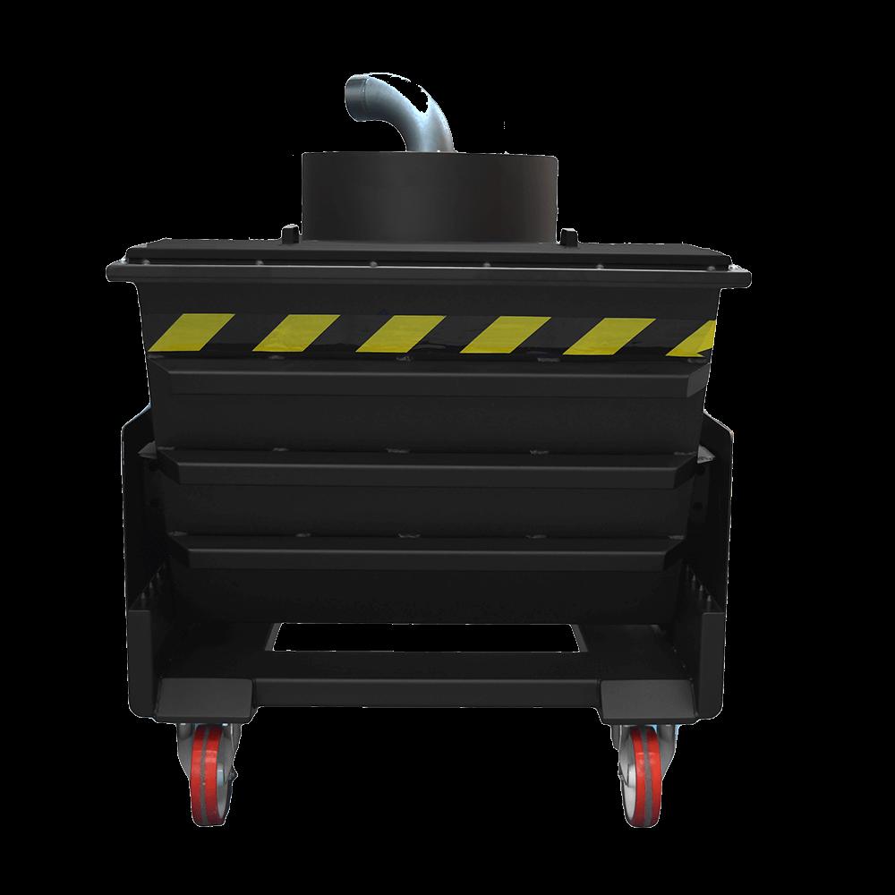 Supra tiltable separator with cyclone head 580 litre