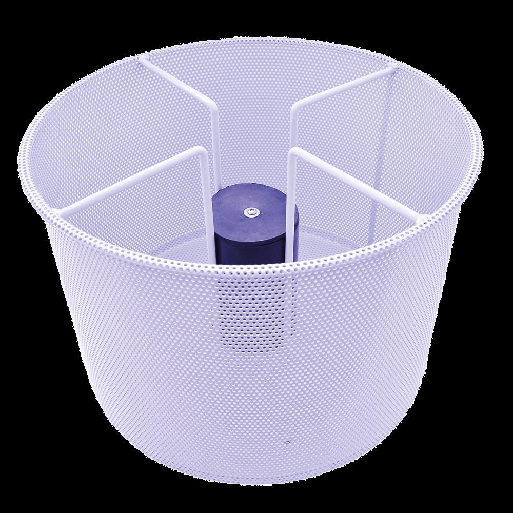 Supra separator mesh for wet & oil vacuums