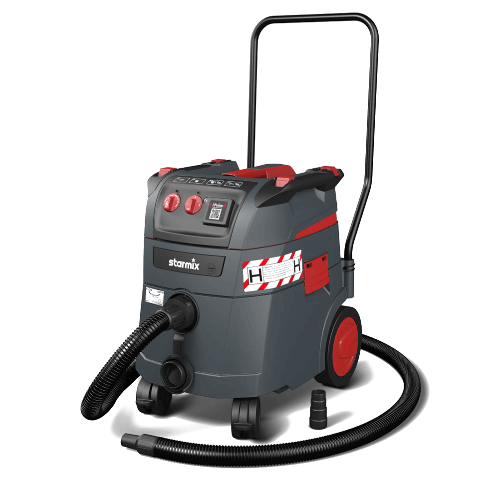 Starmix SafePlus H-Class Certified 35 Litre, 230 Volt Vacuum(including wand kit)