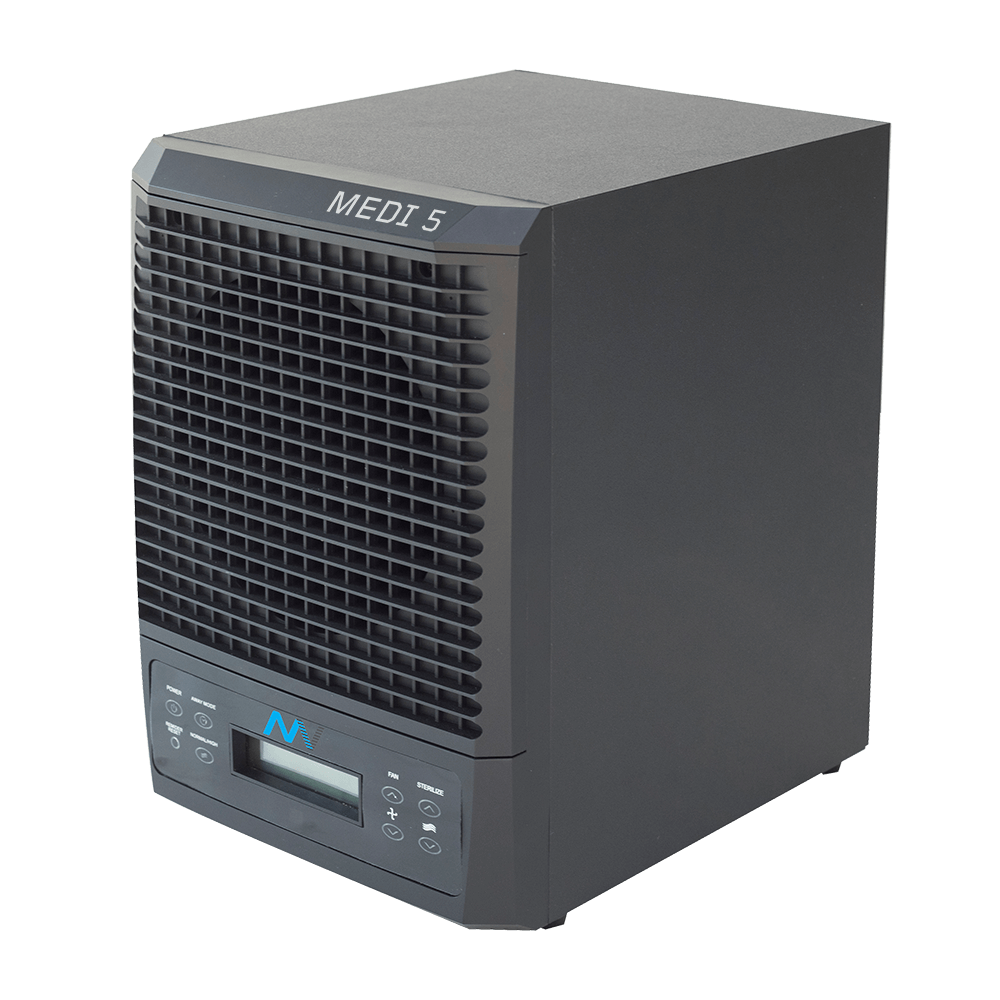 MAXVAC Medi 5 Air Purifier with Variable Air-flow 100m3/h 230 Volt