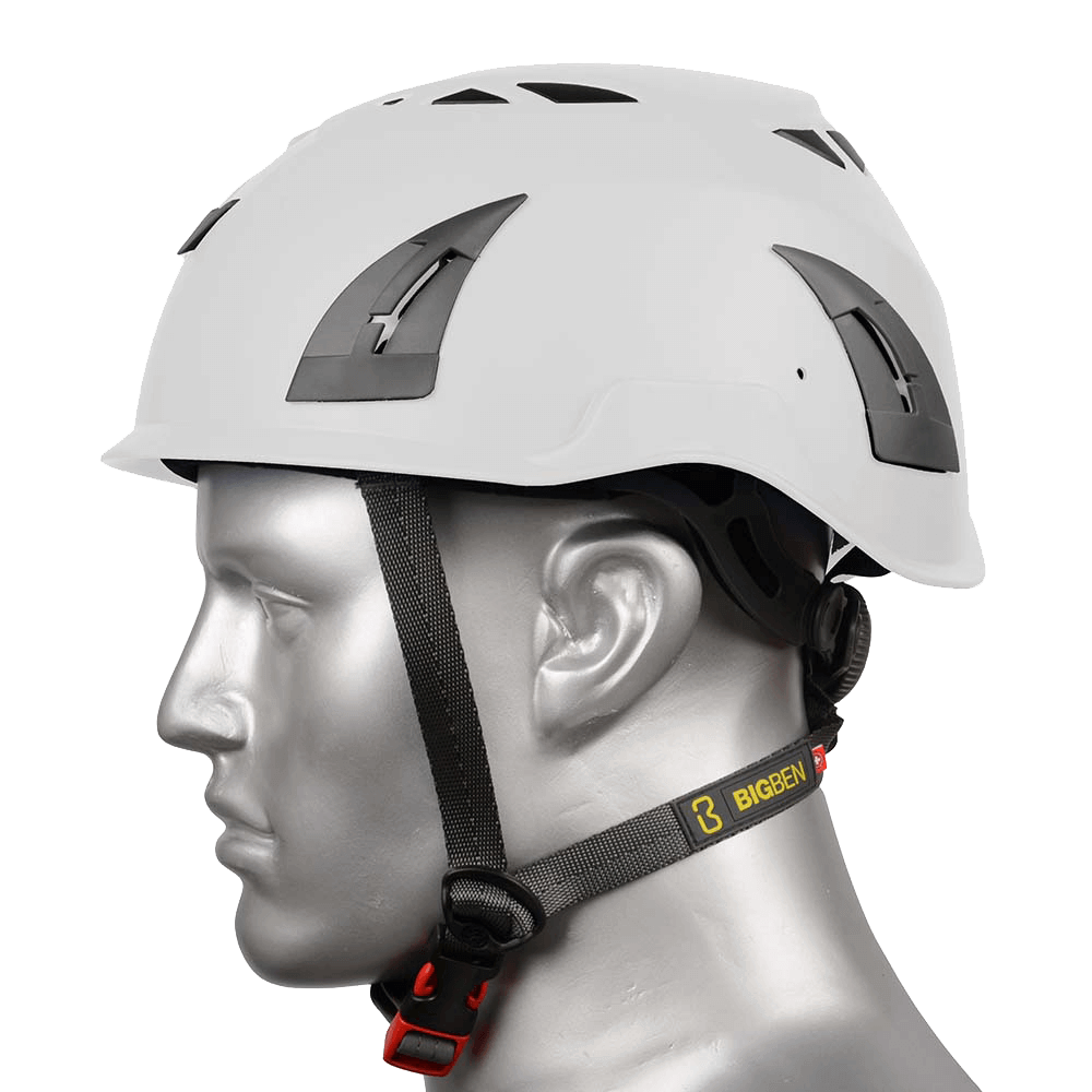 BIG BEN Ultralite Vented Height Safety Helmet, White