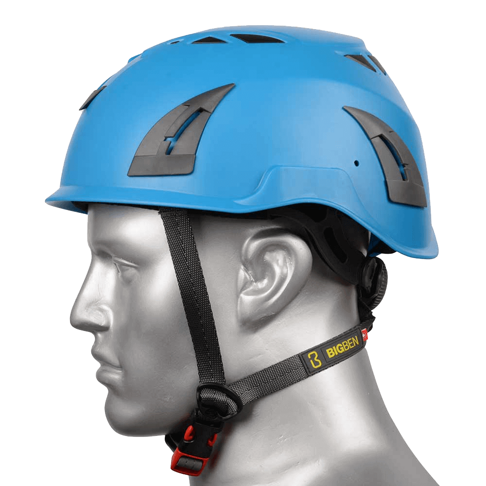 BIG BEN Ultralite Unvented Height Safety Helmet, Blue