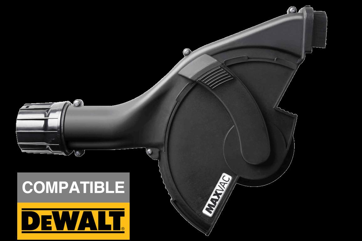 """MAXVAC 180-230mm (8-9"""") Angle Grinder Cutting Shroud for Dewalt Grinders"""