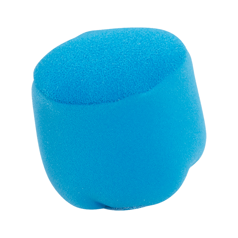 Blue foam filter for vacuuming liquids. Suitable for the DV80