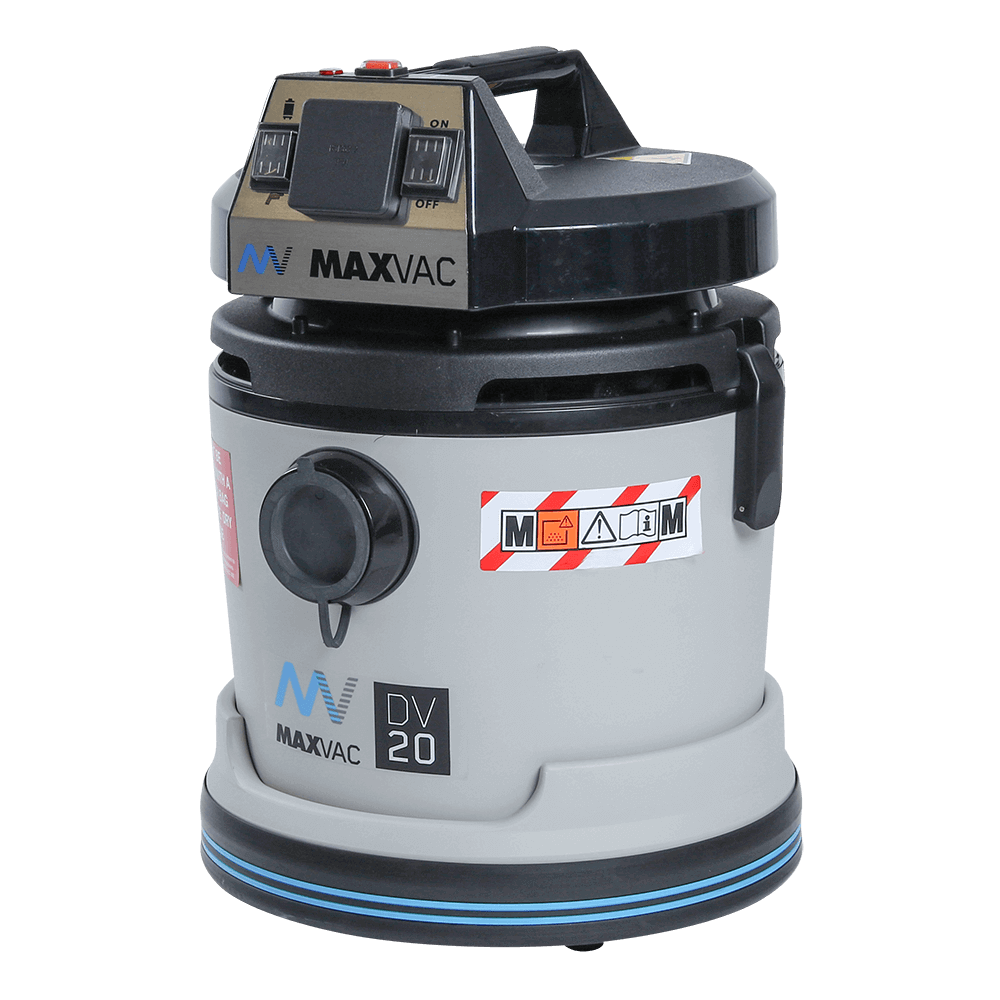 Certified M-Class 20L Vacuum with Automatic Filter Clean 230V, Wet/Dry MAXVAC Dura DV20-MBA