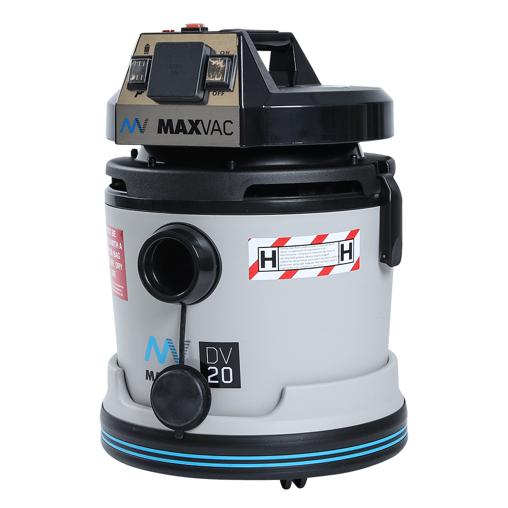 Certified H-Class 20L Vacuum with SMARTclean Filter Function - 230V MAXVAC Dura DV20 HBA