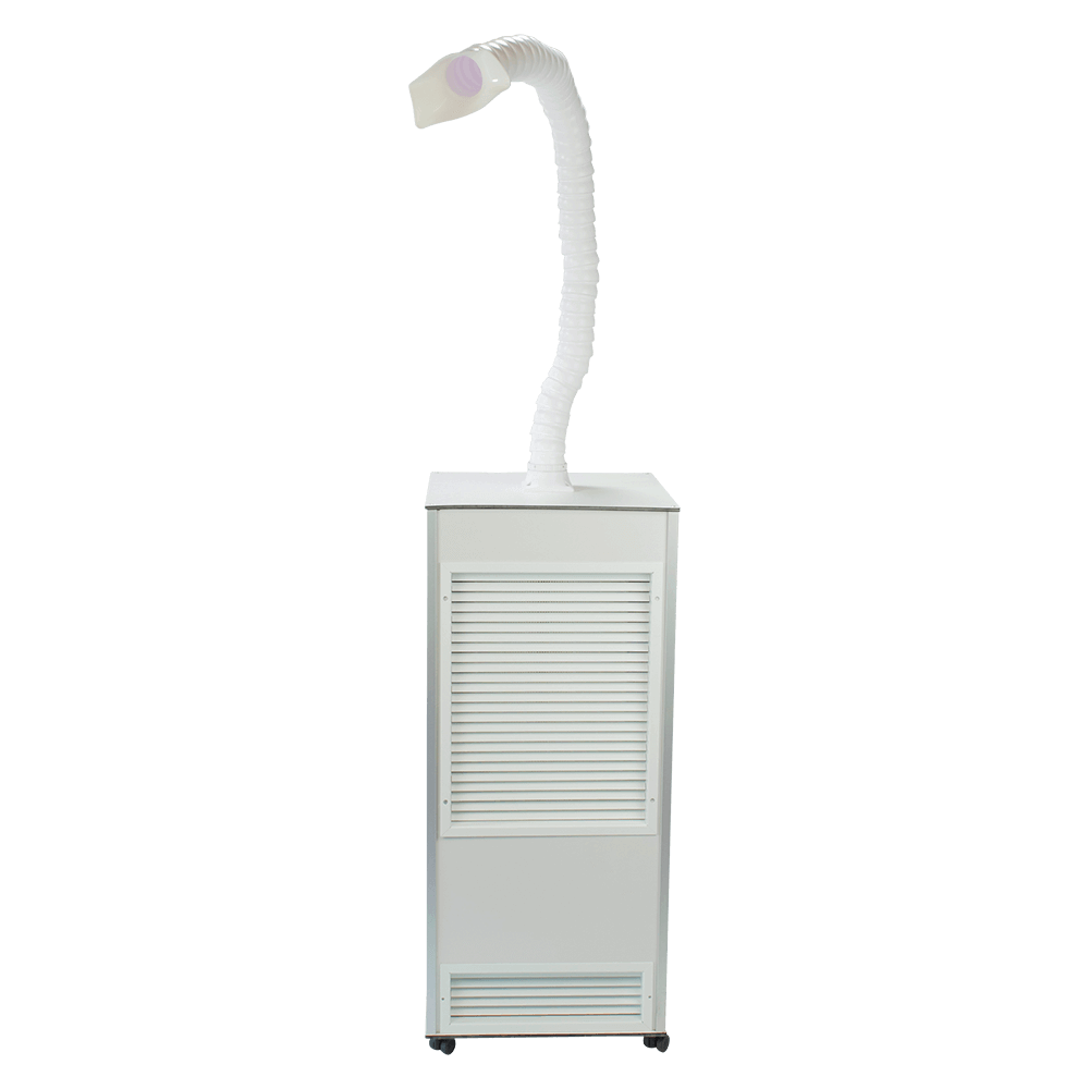 Mobile Air Purifier with Flexi-Arm for Dental & Doctors Surgeries - MEDI 10D