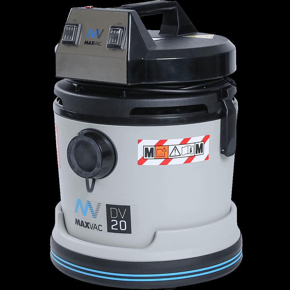 Certified M-Class 230V 20Ltr Wet/Dry Vacuum MAXVAC DV20 MBN