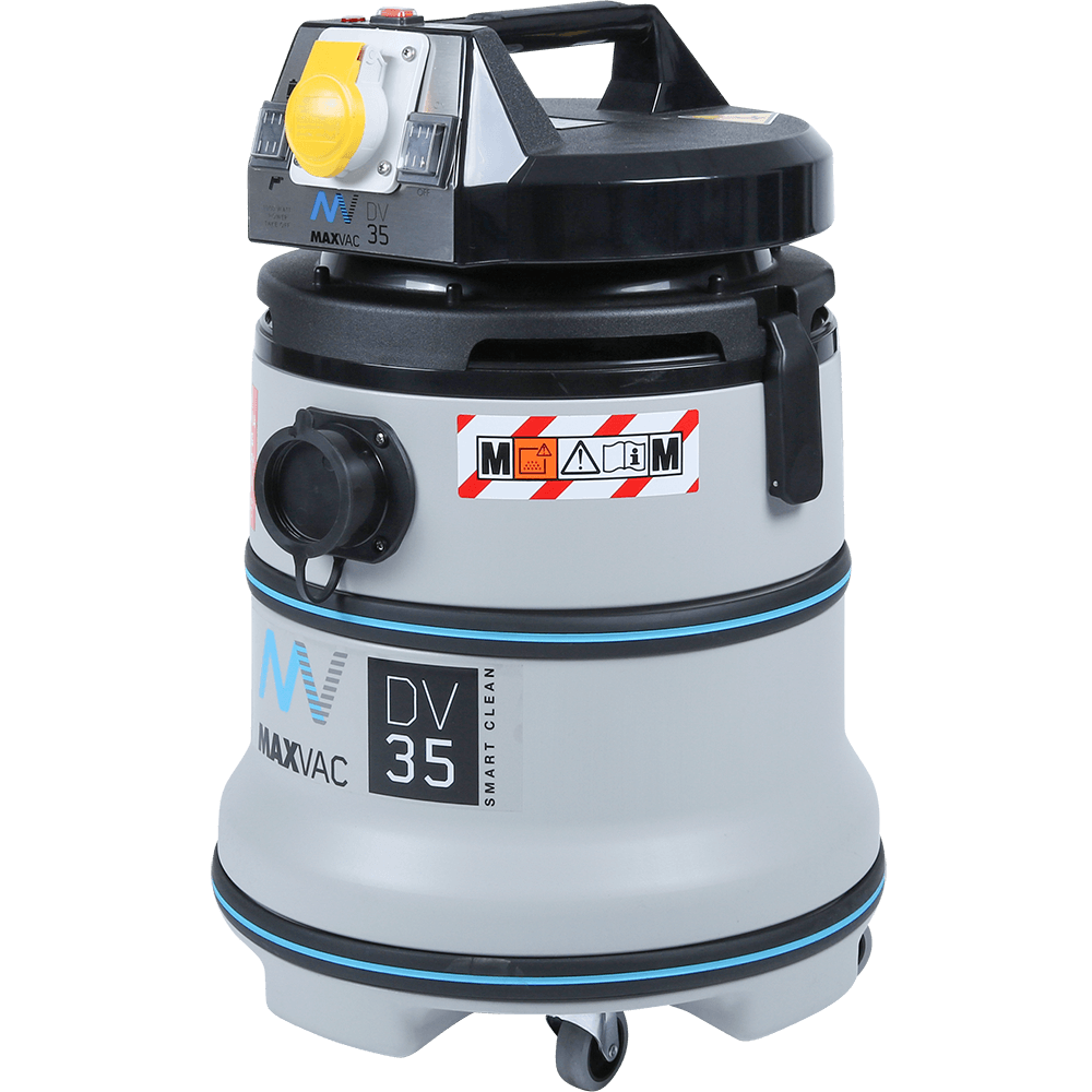 Certified M-Class 35Ltr Vacuum with Smart-Clean Filter Function, 110V MAXVAC Dura DV35-MBA