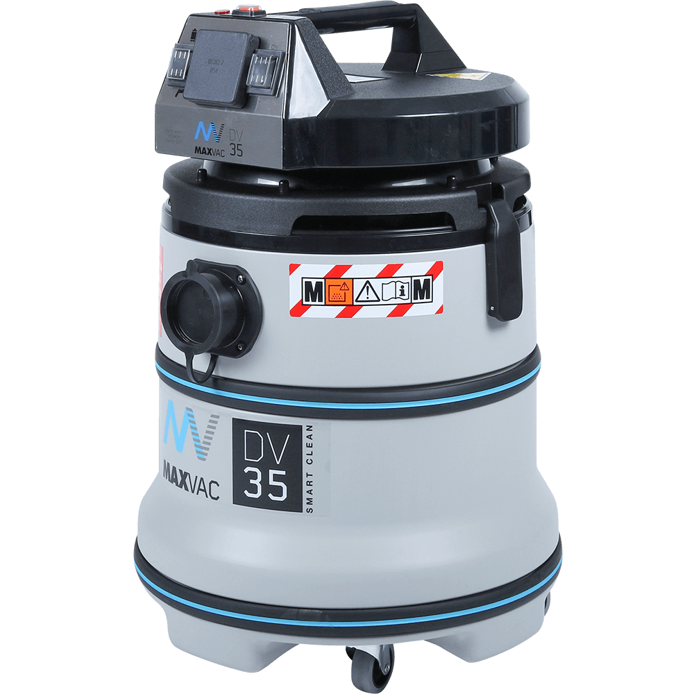 Certified M-Class 35Ltr Vacuum with Smart-Clean Filter Function 230V - MAXVAC Dura DV35-MBA