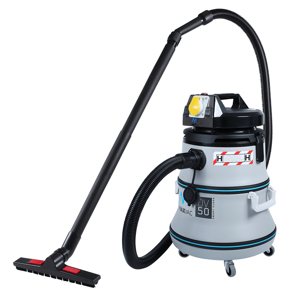 Certified H-Class 50L Vacuum with SMARTclean Filter Function - MAXVAC Dura DV50-HBA