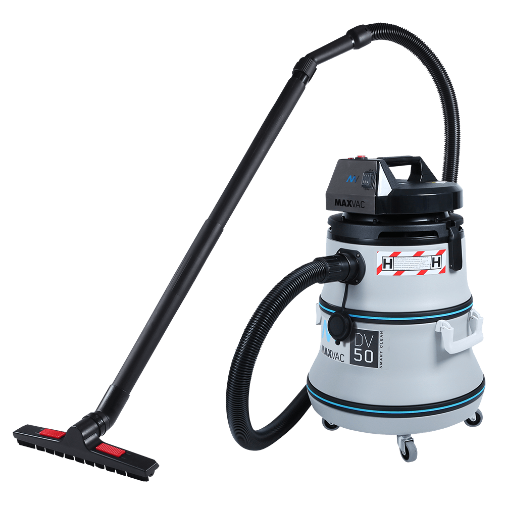 Certified H-Class 50L Vacuum with SMARTclean Filter Function w/o PTO - MAXVAC Dura DV50-HBAN