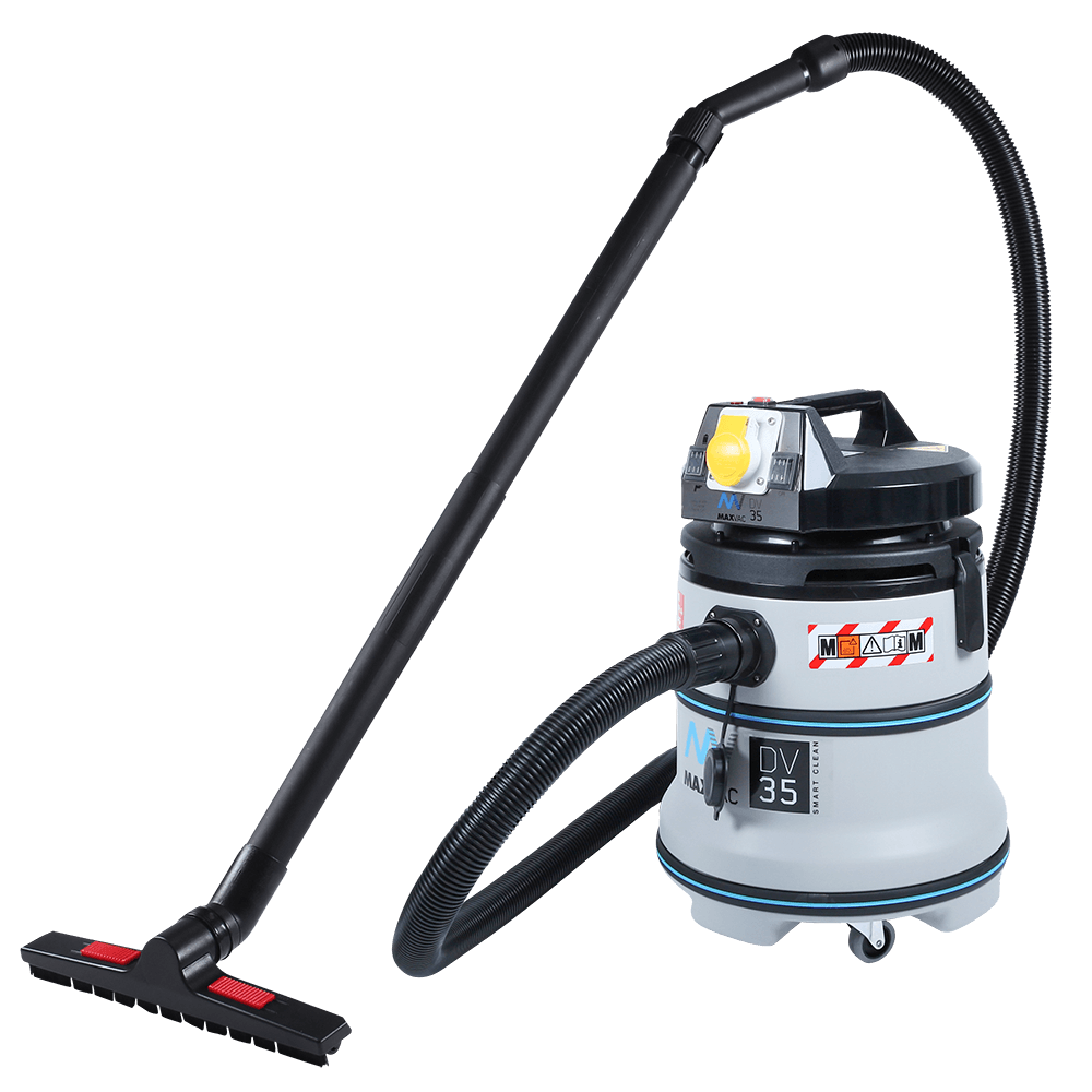 Certified M-Class 35Ltr Vacuum with Smart-Clean Filter Function, MAXVAC Dura DV35-MBA