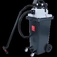 Wheelie Bin Vacuum 120ltr Wet/Dry MAXVAC Dura DV120-MBN