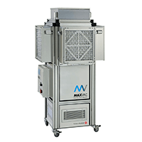 UV-C Air Purifier with huge 3'600m3/h Airflow - MAXVAC MEDI 40 Dustblocker Virus Steriliser