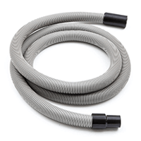 5mtr x 38mm flexible hose with rubber hose cuffs