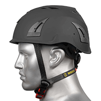 BIG BEN Ultralite Unvented Height Safety Helmet, Black