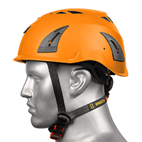 BIG BEN Ultralite Vented Height Safety Helmet, Orange