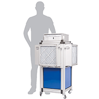 Dustblocker Pro 40 Air Scrubber Cleaner - 4'800m3/h Air Flow Rate