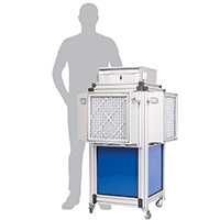 Dustblocker Pro 50 Air Scrubber Cleaner - 9'000m3/h Air Flow