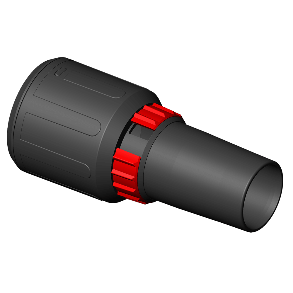 Starmix 35mm Hose Connector with Variable Suction  Regulation