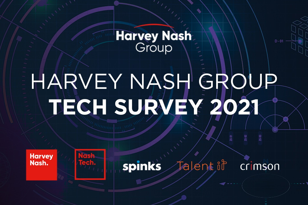 Take part in the 2021 Harvey Nash Group Tech Survey