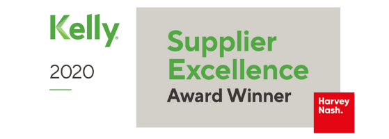 Harvey Nash Earns Supplier Excellence Award from KellyOCG Recognising Unrivalled Workforce Solutions