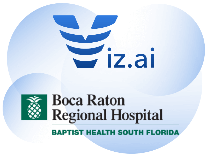 Viz.ai and Boca Raton Regional Hospital